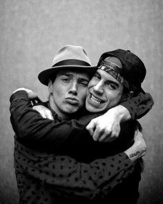 Anthony Kiedis & John Frusciante