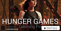 Quiz: Catching Fire, How well are you in facts about the hunger games?