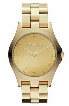 fc25c1860ac MARC BY MARC JACOBS  Henry Glossy  Bracelet Watch available at  Nordstrom  Marc Jacobs