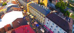 Leyraa-UAVO Zdjęcia i Filmy z drona / Usługi Dron / Licencjonowany Pilot UAVO / Kielce / VBLOS: Jarmark Francuski w Kielach 22-26 czerwca, Ulica S...