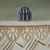 Unbranded Leather Stamping Tool - Paw Print Border Stamp