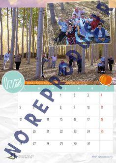 Mes de Octubre del Calendario Solidario 2015