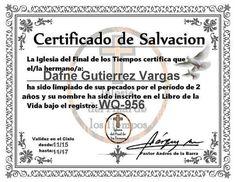 ¡Escándalo! Iglesia emite certificados de heterosexualidad | EL DEBATE