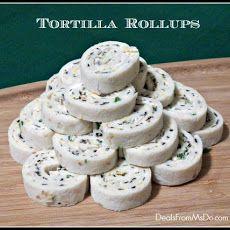 Cream Cheese Tortilla Roll Ups