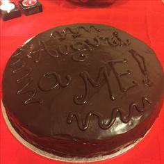 My Birthday Sacher cake