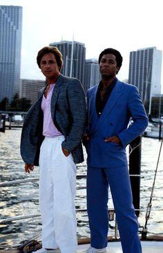 "Miami Vice. Don Johnson as Detective James ""Sonny"" Crockett. Philip Michael Thomas as Detective Ricardo ""Rico"" Tubbs."