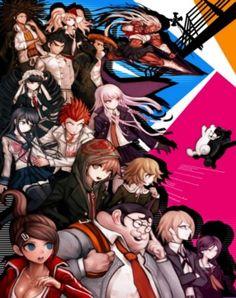 "095 Danganronpa Japanese Video Game 34/""x24/"" Poster"