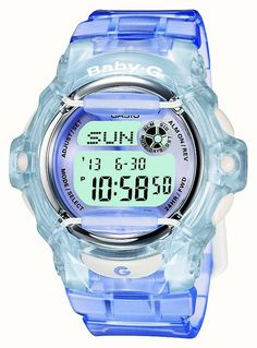 da63881d0a1e Casio Baby-G Lilac Blue Womens Digital Watch