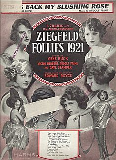 Ziegfeld Follies 1921 - Bring Back My Blushing Rose