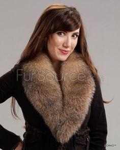 aae20a06e72 Fur Collar   Scarf - Crystal Fox Fur
