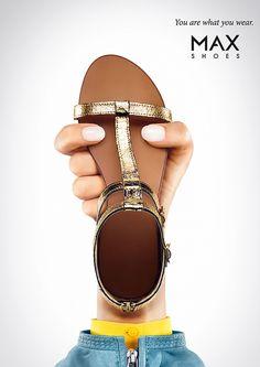 MAX Shoes: Sandals - Jung von Matt/Limmat, Zurich, Switzerland