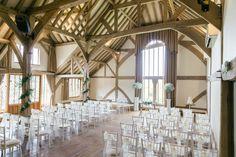 Gemma and Paul's Wedding at Cain Manor - Bijou Wedding Venues Cain Manor, Wedding Ceremony, Wedding Venues, Altar Decorations, May Weddings, Wedding Chairs, Surrey, Hampshire, Spring Wedding