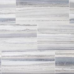 Palissandro Azzurro Porcelain Tile - 12 x 24 - 100486422 Bedroom Floor Tiles, Stone Look Tile, Parts Of Stairs, Polished Porcelain Tiles, Commercial Flooring, Ceramic Wall Tiles, Style Tile, Shower Floor, Bath Shower