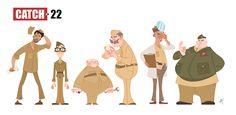 #art #sketch #doodle #drawing #characterart #characterdesign #Catch22 #josephheller #ashbaharin