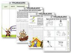 VOCABULAIRE : Les contes CP/CE1 | ReCreatisse | Bloglovin'