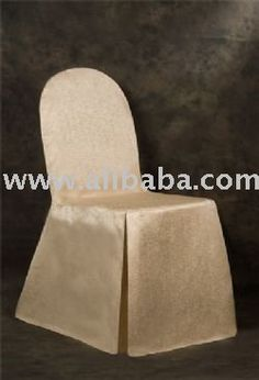 Light Beige Color Marble Design Regular Textile Chaircovers