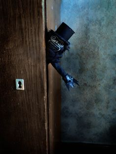 The Babadook horror movie doll by LairOfSoveyshina on Etsy