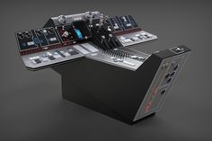 The part in my Falcon series. The main dashboard console fully detailed. This is the version as seen in Star Wars: A New Hope (Episode iV). There were quite a f