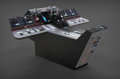 Millennium Falcon: Cockpit Console (Dashbaord) Full Detail - STEP / IGES - 3D CAD model - GrabCAD