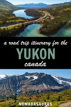 The Yukon peninsula in Canada is home to some of the most beautiful landscapes in the country! Heres how to plan the perfect road trip itinerary to see them all. Backpacking Canada, Canada Travel, Quebec, Montreal, Vancouver, Columbia, Yukon Canada, Toronto, Perfect Road Trip