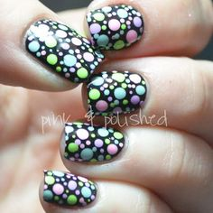 Pink & Polished: It's crazzzzy dot time!