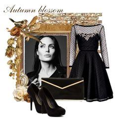 """""""Black"""" by skye-daisy ❤ liked on Polyvore featuring WALL, Marc by Marc Jacobs, Oscar de la Renta and Michael Antonio"""