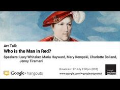 Art Talk: Who is the Man in Red?