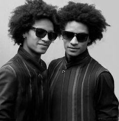 """Dancers """"Les Twins"""" - Larry & Laurent"""