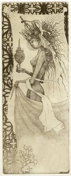 Iona Tarot 03 - Die Herrscherin