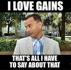 Gym humor...gains