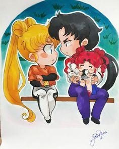 Sailor Mars, Arte Sailor Moon, Sailor Moon Stars, Sailor Moon Crystal, Stars And Moon, Anime Love, Anime Guys, Anime Manga, Anime Art