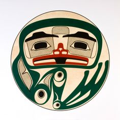 Frog Drum - Roy Henry Vickers