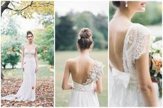 Chic Romantic Wedding Dresses by Anna Campbell {Judy Pak Photography}