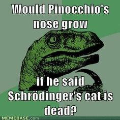 You know you're a nerd when you understand this joke...