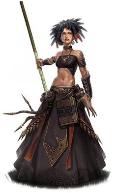 Probably the witch leader of the Bloody Chupar nomad clan.