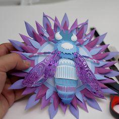 #paperart #paper #handmade #papercraft #art #papercut #papercutting #artist #design #illustration #diy #paperwork #artwork #handcut #instaart #gift #crafts #papercrafts #paperartist #craft #papersculpture #cutout #creative #decor #beautiful #color #wallart