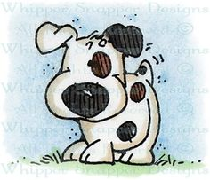 Spunky Pup - Dogs - Animals - Rubber Stamps - Shop