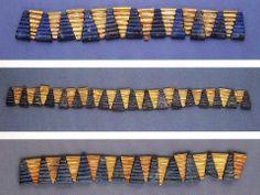 Sumerian Gold and Lapis Lazuli Beads c. 2500 BC Ur