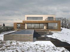 HAUS FRZ | AL Architekt Mansions, House Styles, Home Decor, New Construction, Detached House, Architecture, Decoration Home, Manor Houses, Room Decor