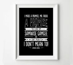 Samwise Quote Frodo Lord of the Rings Movie Poster, Typography Print, Quote Print, Digital Art Print by POSTERED on Etsy https://www.etsy.com/listing/174787468/samwise-quote-frodo-lord-of-the-rings