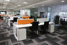 #Ubalpine utilize the space in a very calculated way,  bring new looks to office by creating better utilization of space.