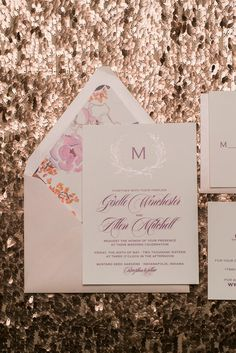 GISELLE Suite Rustic Package, blush rustic wedding invitations, burgundy, purple, lavender, velvet ribbon, foil stamping, laurels, the perfect wedding invitation for your boho wedding