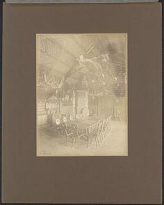 Interieur van jachthuis Rominten, 1913