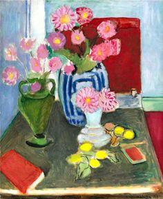 Henri #Matisse. Still-life with three vases. 1933