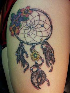 Dram catcher tattoo