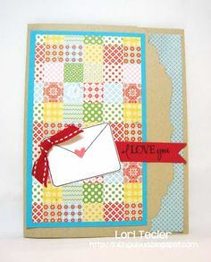Card by Lori Tecler using Verve Stamps. #vervestamps.