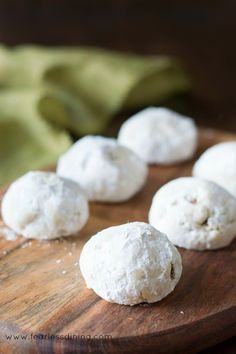 These easy melt in your mouth gluten free Russian tea cookies are a delicious cookie to enjoy with a cup of tea or coffee.