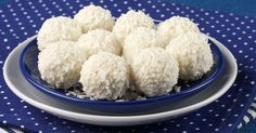 These sweet little balls are great to keep in the fridge or freezer for when you need a treat.