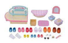 Sylvanian Families Vidiecky obchod s obuvou Sylvanian Families, Childhood Toys, Shoe Shop, Zara, Fun, Shopping, Shoes, Amazon, Google