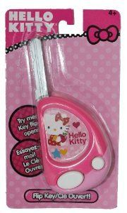 Hello Kitty Toy Flip Key with Button Activated Sounds -- You can find out more details at the link of the image.